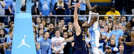 North Carolina, powered by Joel Berry and Theo Pinson in the second half, broke open a close game late as the Heels won their fourth game in a row and their third game in five days with an 83-66 win over Notre Dame. (2/12) Notre Dame came from 10 down to cut the margin to one point at 58-57 with 9:38 left before Berry and Pinson led Carolina on a game-breaking 22-6 run. During the run, Pinson had a couple of highlight reel plays that got the Smith Center hopping. With 6:36 left, Pinson faked defenders with a crossover move […]