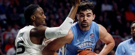 North Carolina was locked in a close battle at Miami with seven minutes to go when UNC's Cam Johnson and Kenny Williams combined for four three-pointers over the next two and a half minutes to propel the Tar Heels to an 85-76 win over the Canes. (1/19) After a first half that went back and forth and ended in a 37-37 tie, the Tar Heels went on a 7-0 run to go up 56-48 with 13:20 left in the game. Trailing the Heels 61-52 midway through the second half, the Hurricanes went on a 10-2 run of their own to […]