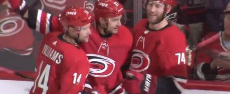Justin Faulk scored the go-ahead goal in the second period, and the Carolina Hurricanes clinched their first playoff berth in a decade by beating the New Jersey Devils 3-1 on Thursday night. …read more Source:: WRAL